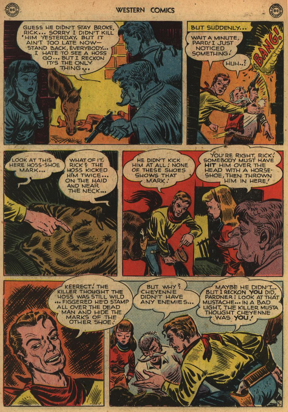 Western Comics issue 1 - Page 18