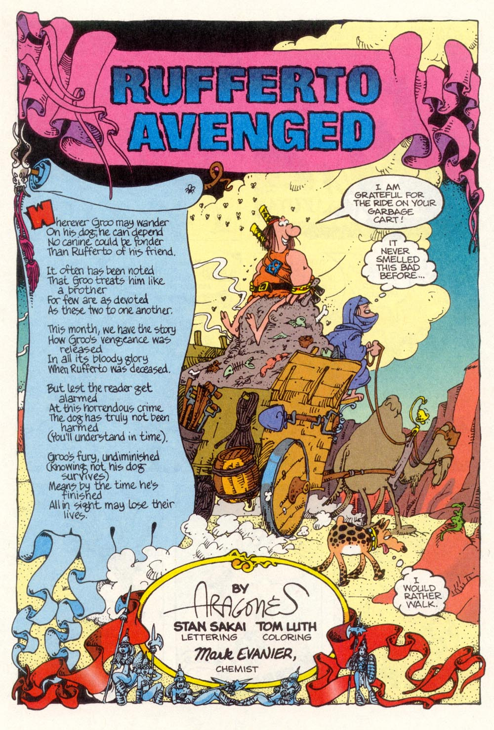 Read online Sergio Aragonés Groo the Wanderer comic -  Issue #112 - 3