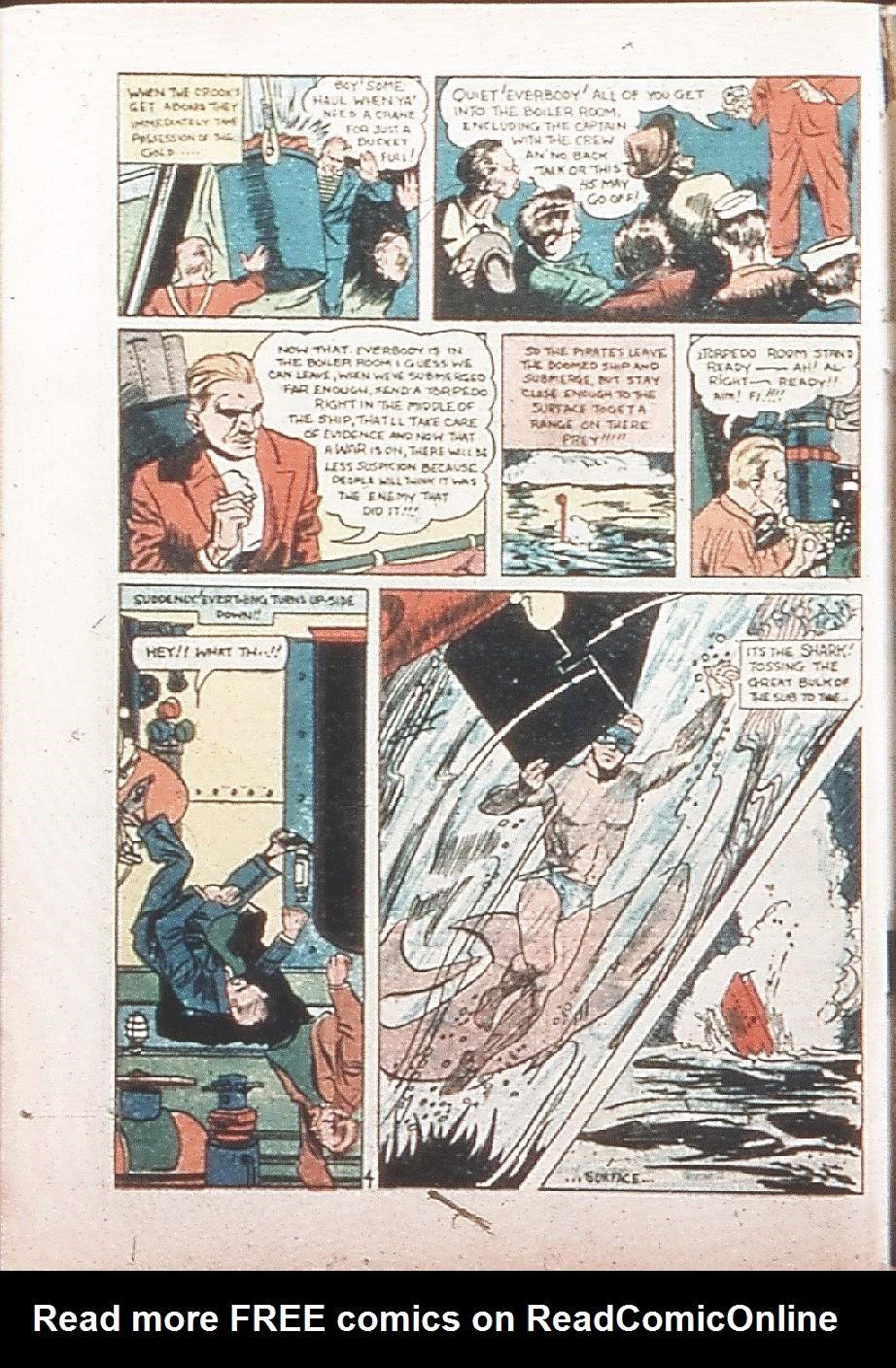 Read online Amazing Man Comics comic -  Issue #9 - 63