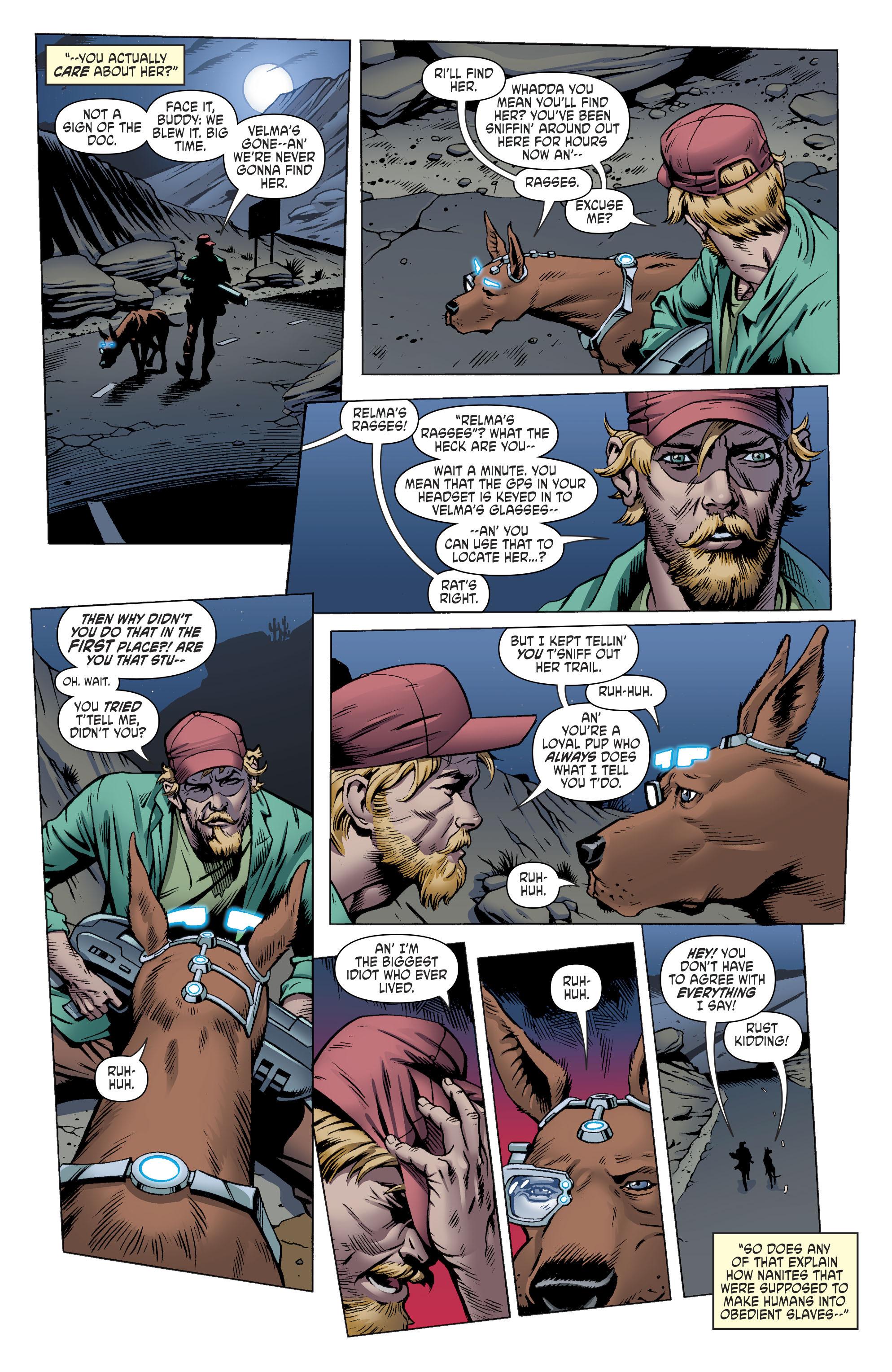 Read online Scooby Apocalypse comic -  Issue #11 - 9
