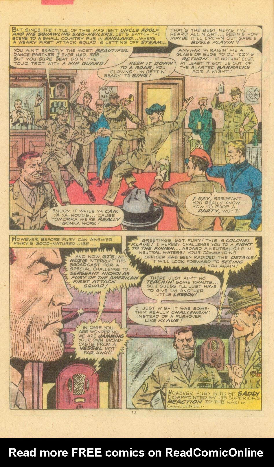 Read online Sgt. Fury comic -  Issue #155 - 12