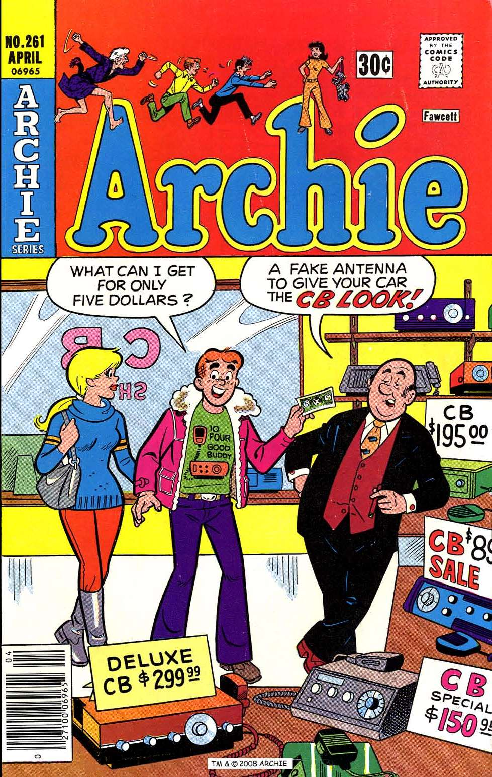 Read online Archie (1960) comic -  Issue #261 - 1