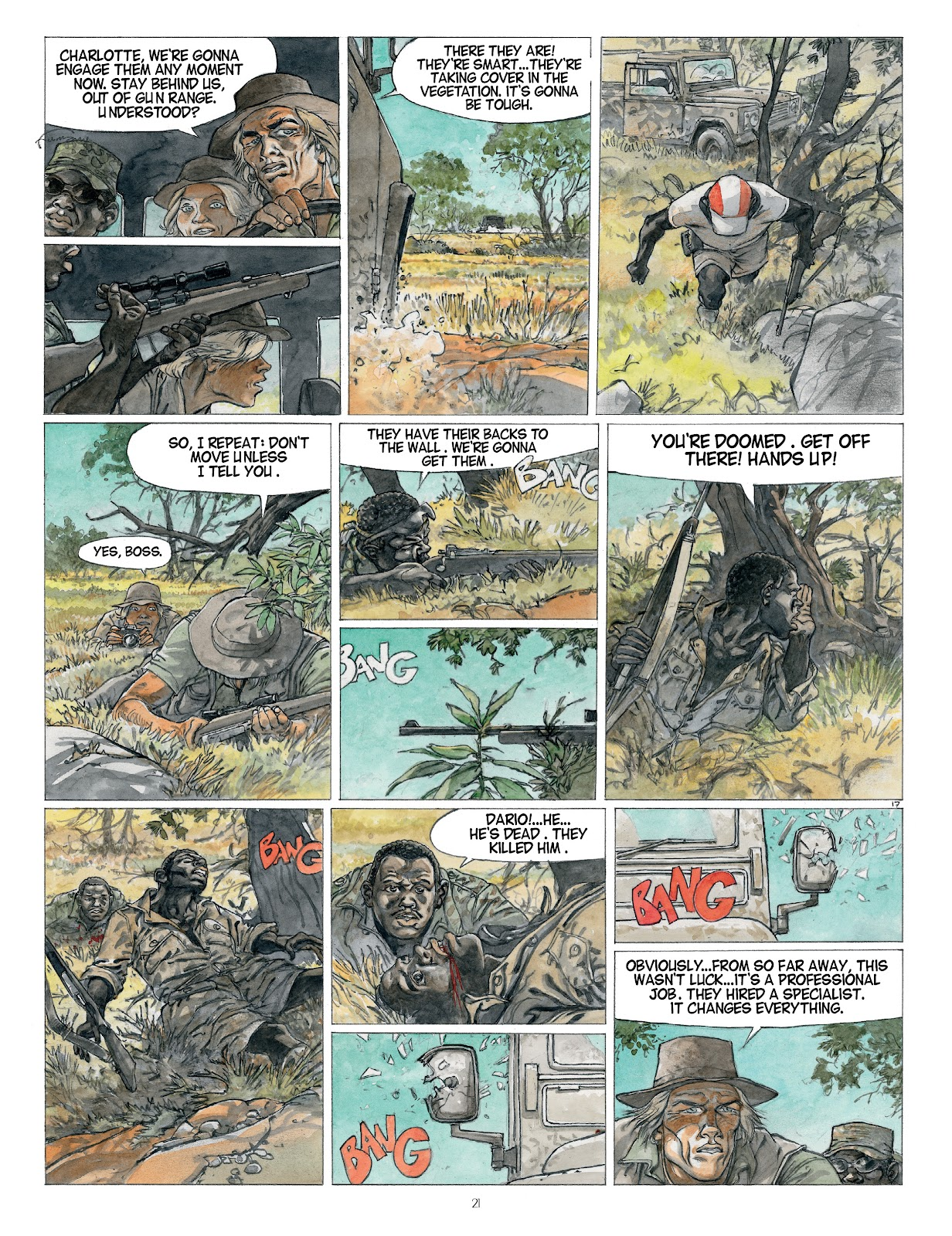 Read online Afrika comic -  Issue # TPB - 21
