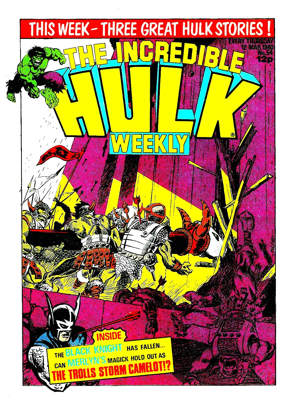 The Incredible Hulk Weekly 54 Page 1