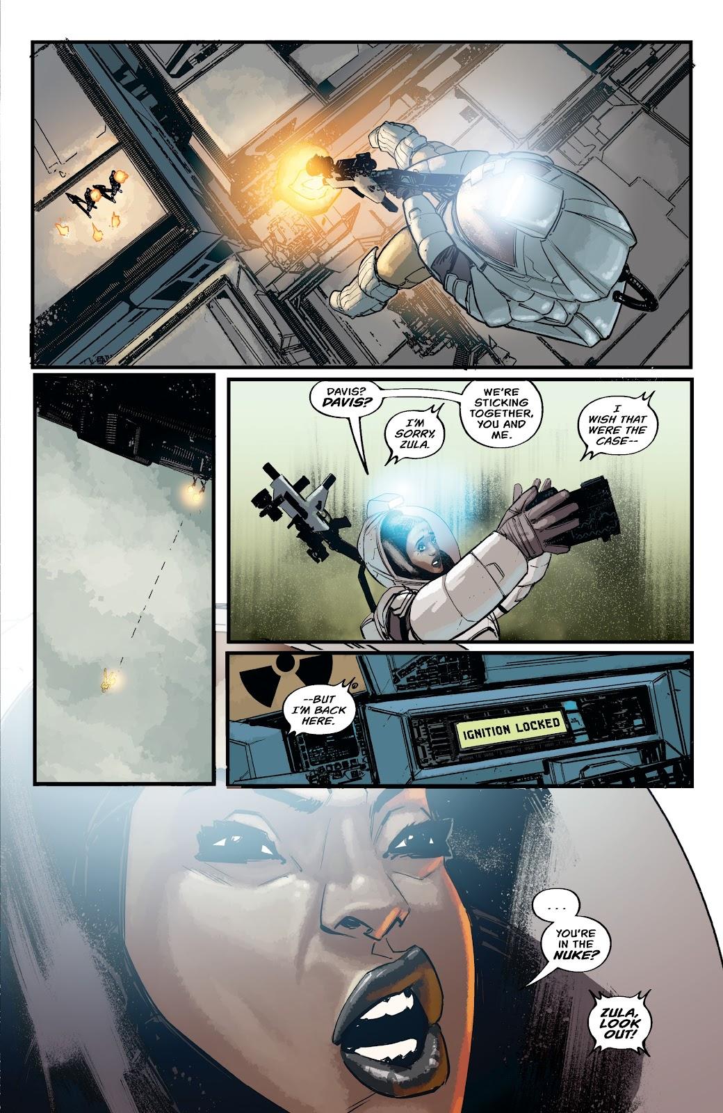 Read online Aliens: Resistance comic -  Issue #2 - 21