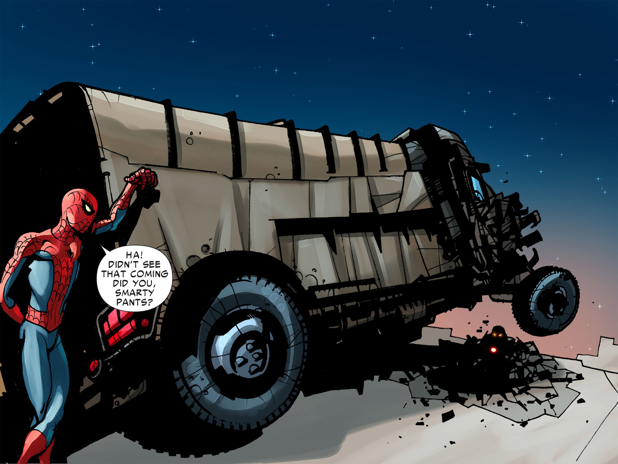 Read online Amazing Spider-Man: Who Am I? comic -  Issue # Full (Part 1) - 158