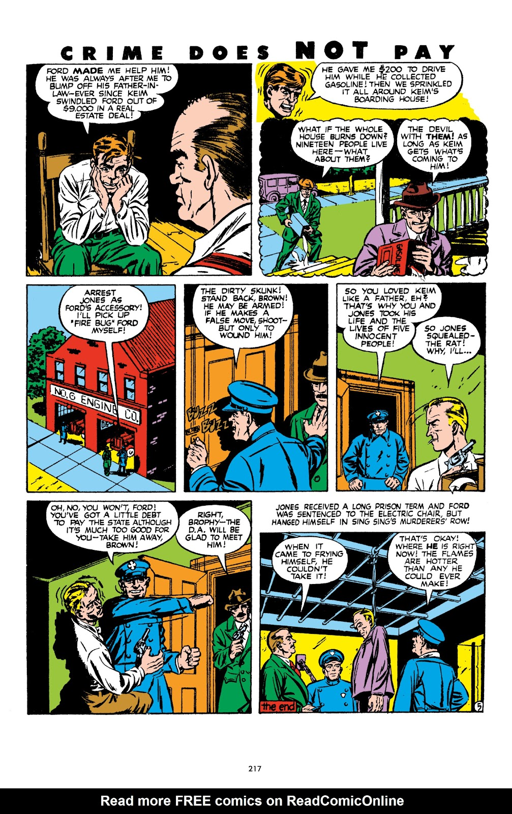 Read online Crime Does Not Pay Archives comic -  Issue # TPB 8 (Part 3) - 18