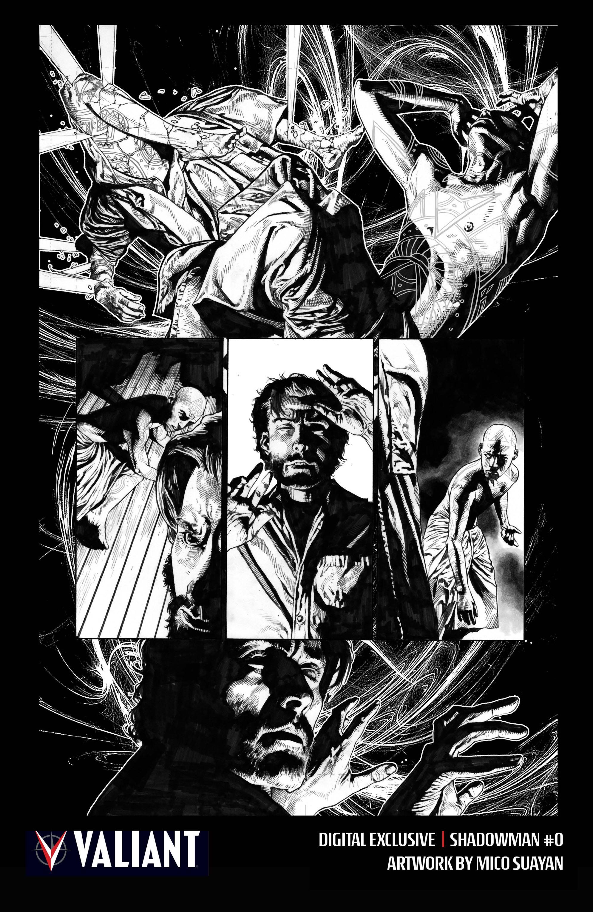 Read online Shadowman (2012) comic -  Issue #0 - 35