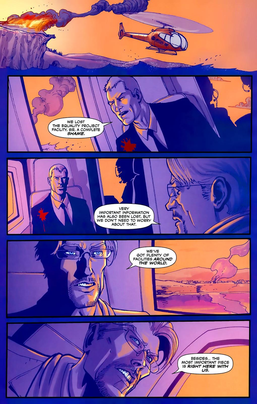 Read online Lazarus (2007) comic -  Issue #3 - 23