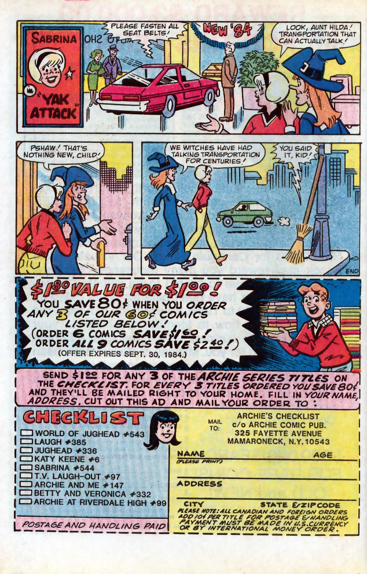 Read online Archie (1960) comic -  Issue #331 - 8