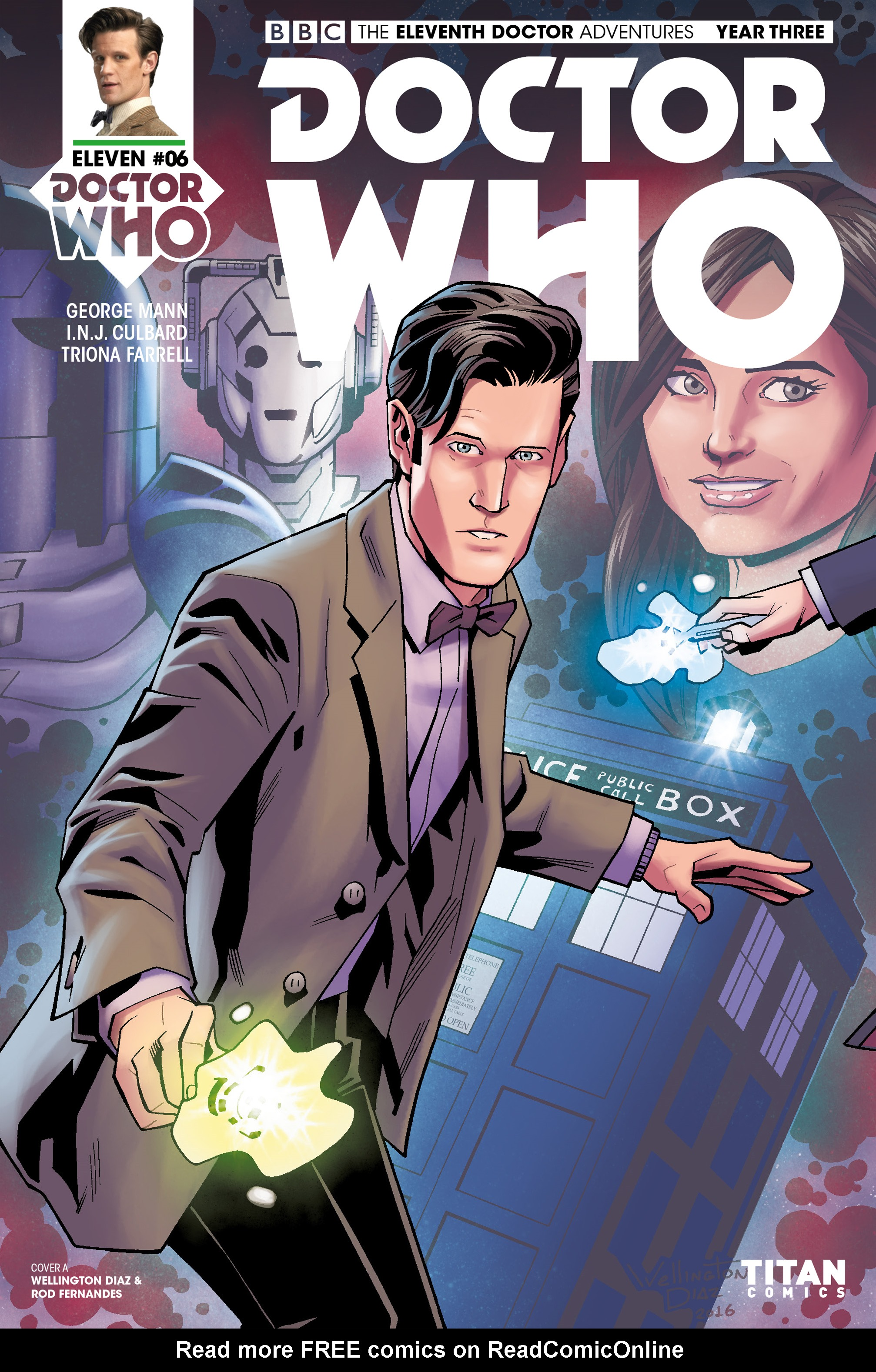 Read online Doctor Who: The Eleventh Doctor Year Three comic -  Issue #6 - 1