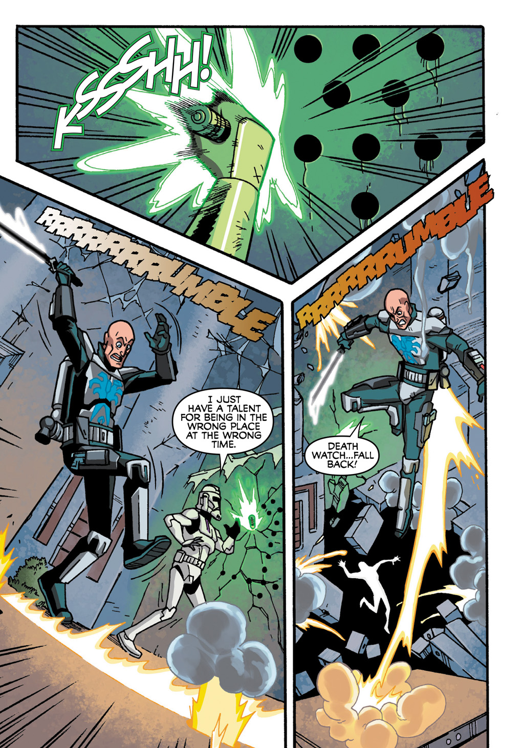 Read online Star Wars: The Clone Wars - Defenders of the Lost Temple comic -  Issue # Full - 65