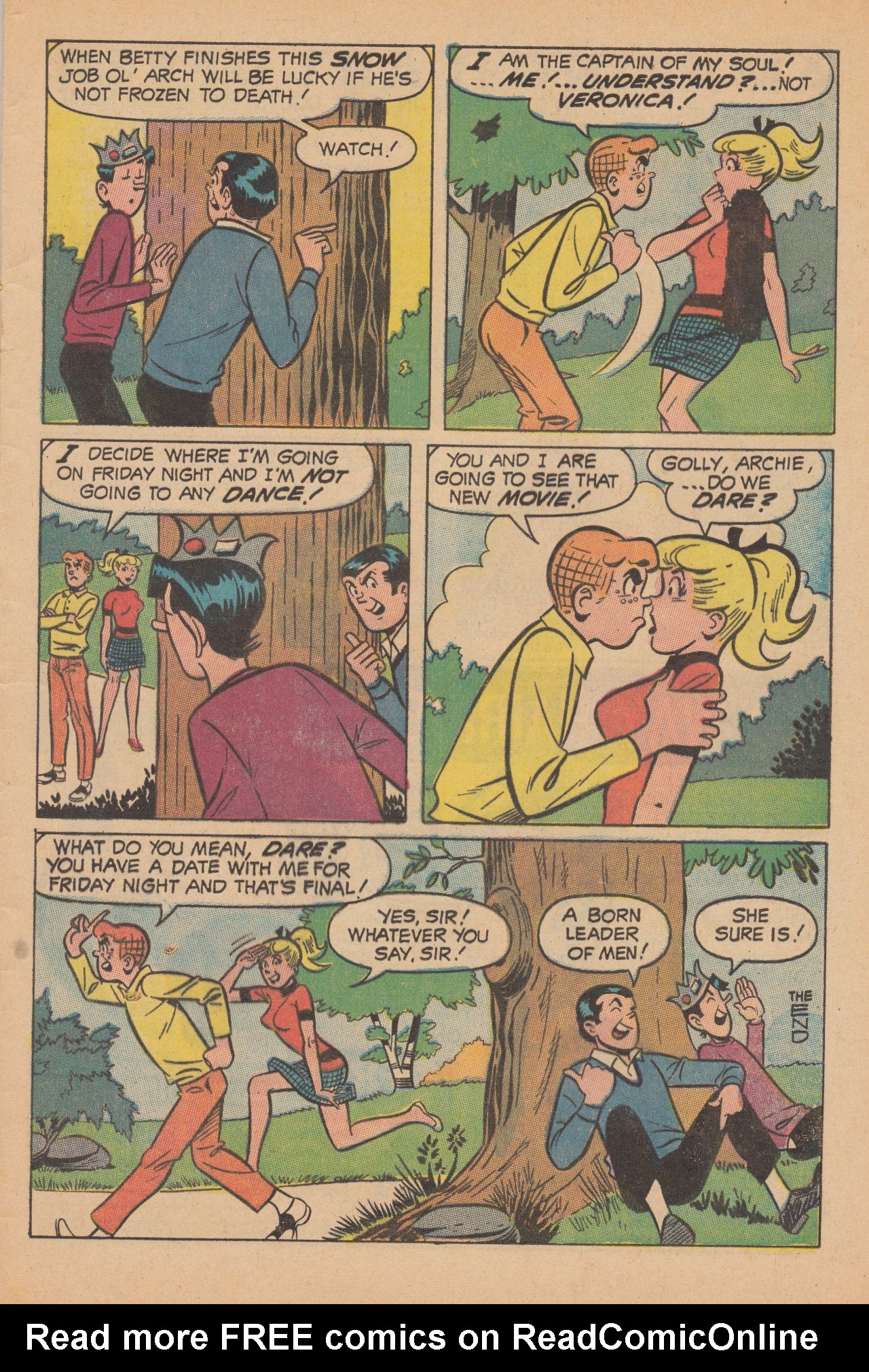 Read online Archie (1960) comic -  Issue #188 - 33
