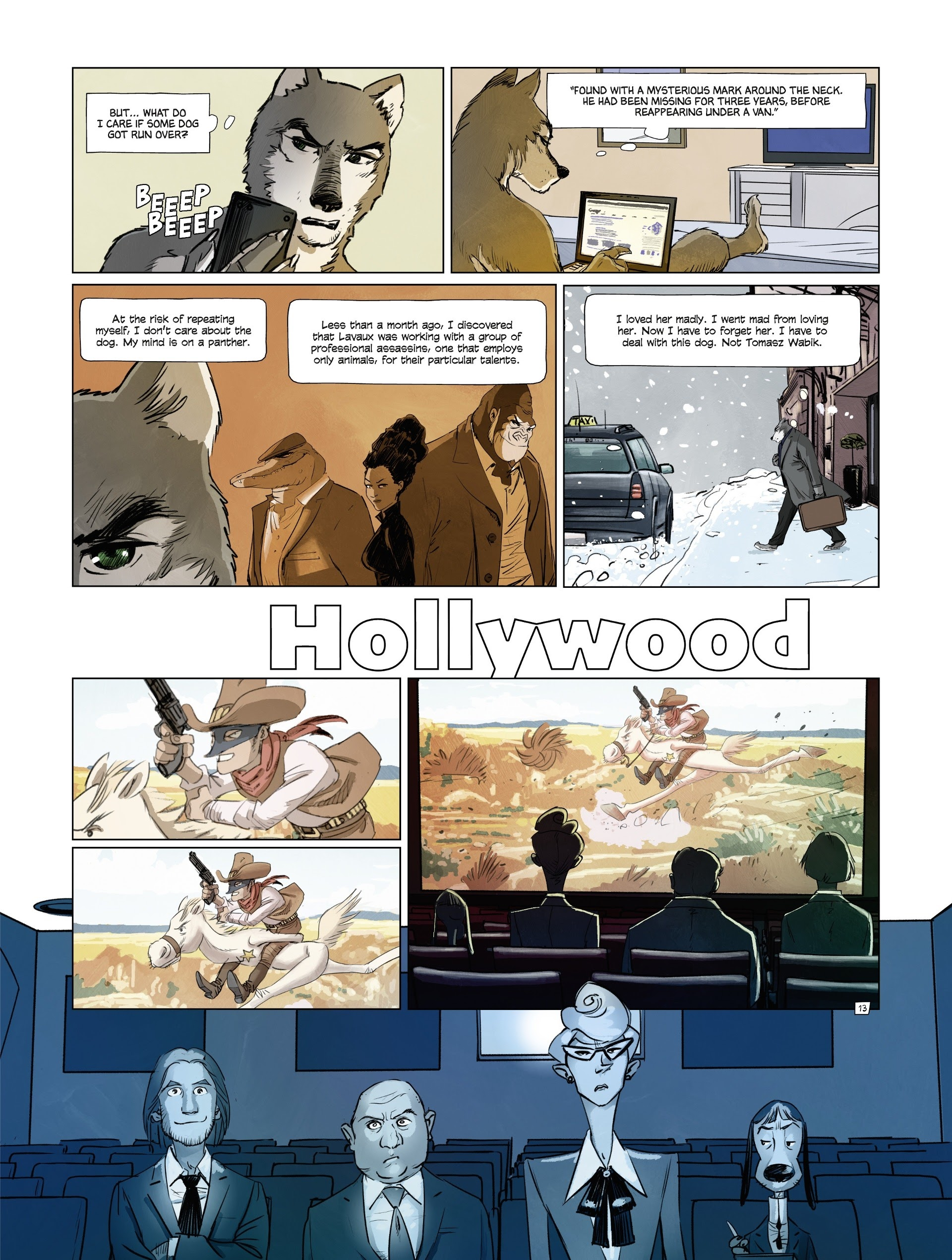 Read online Jack Wolfgang comic -  Issue #3 - 17