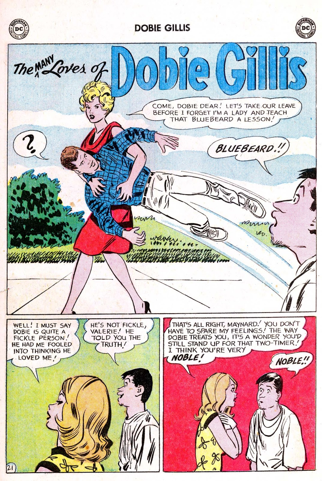 Many Loves of Dobie Gillis issue 21 - Page 27