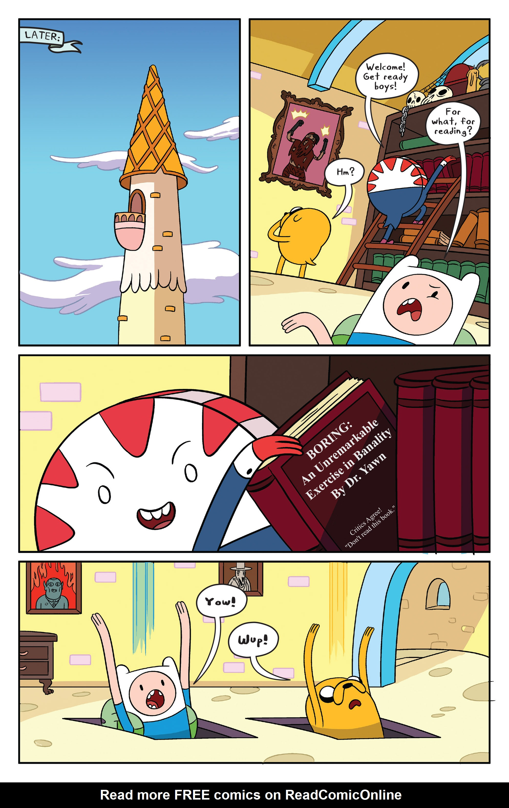 Read online Adventure Time comic -  Issue #41 - 11