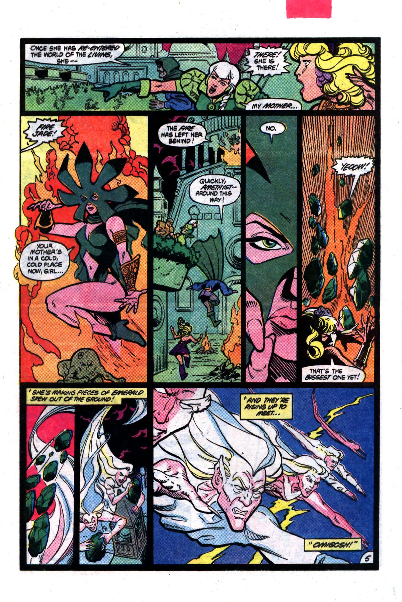 Read online Amethyst (1985) comic -  Issue #8 - 5