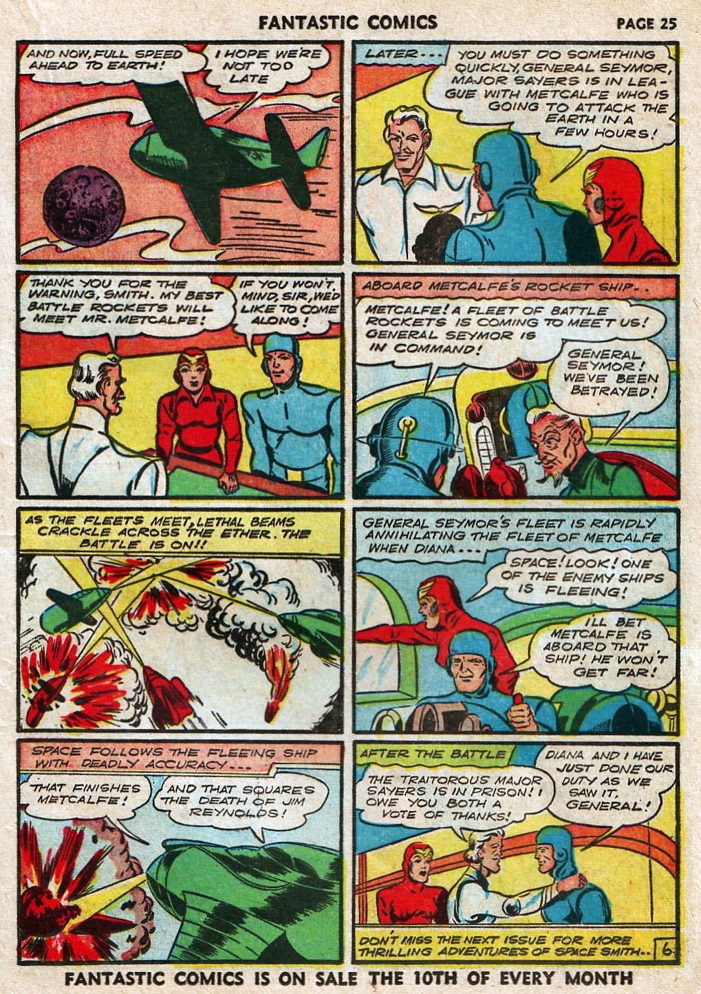 Read online Fantastic Comics comic -  Issue #17 - 27