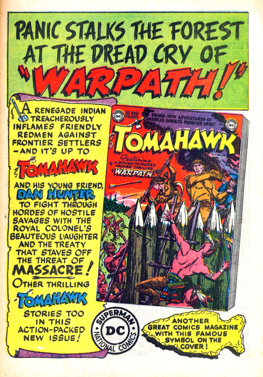 Read online Wonder Woman (1942) comic -  Issue #45 - 49