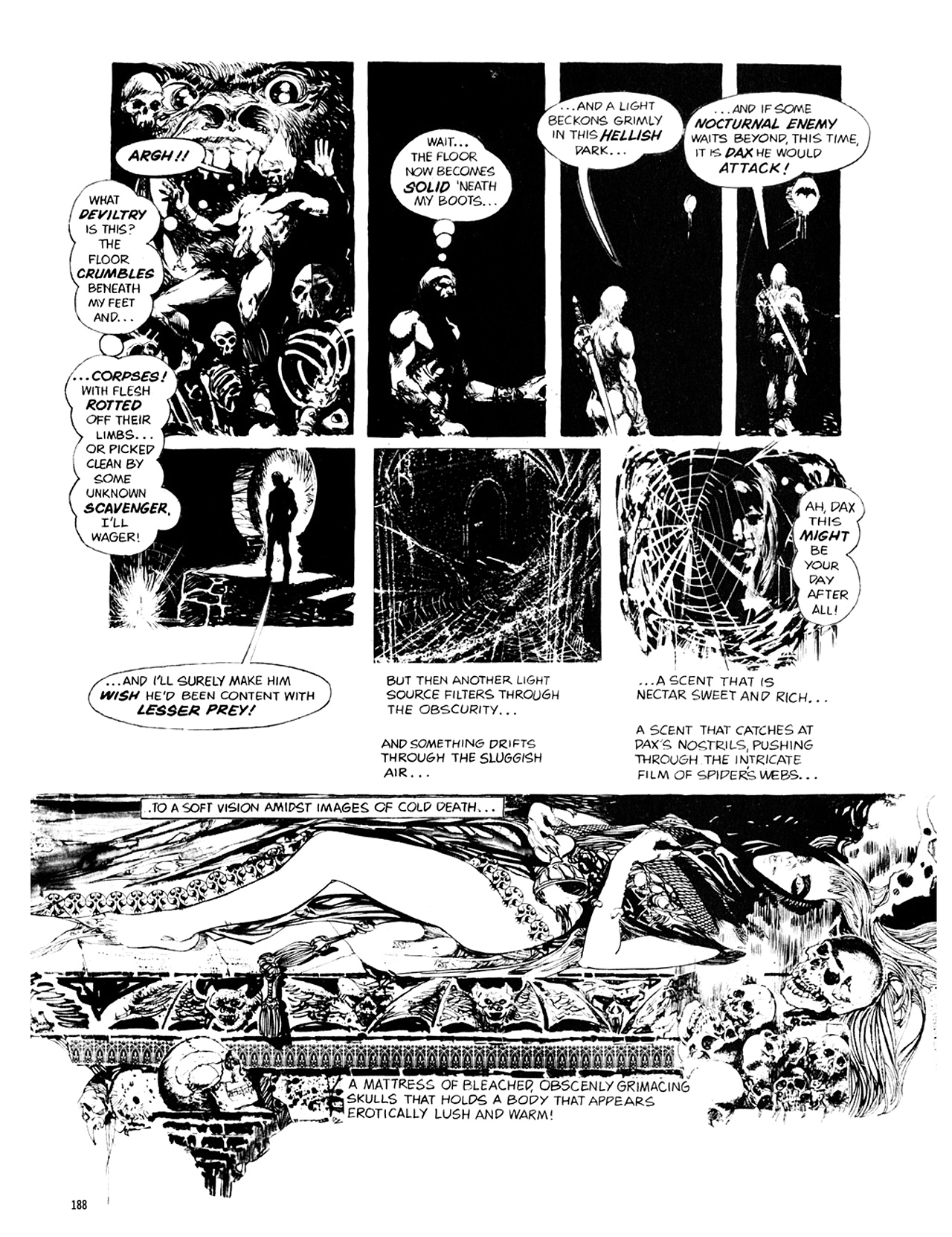 Read online Eerie Archives comic -  Issue # TPB 10 - 189