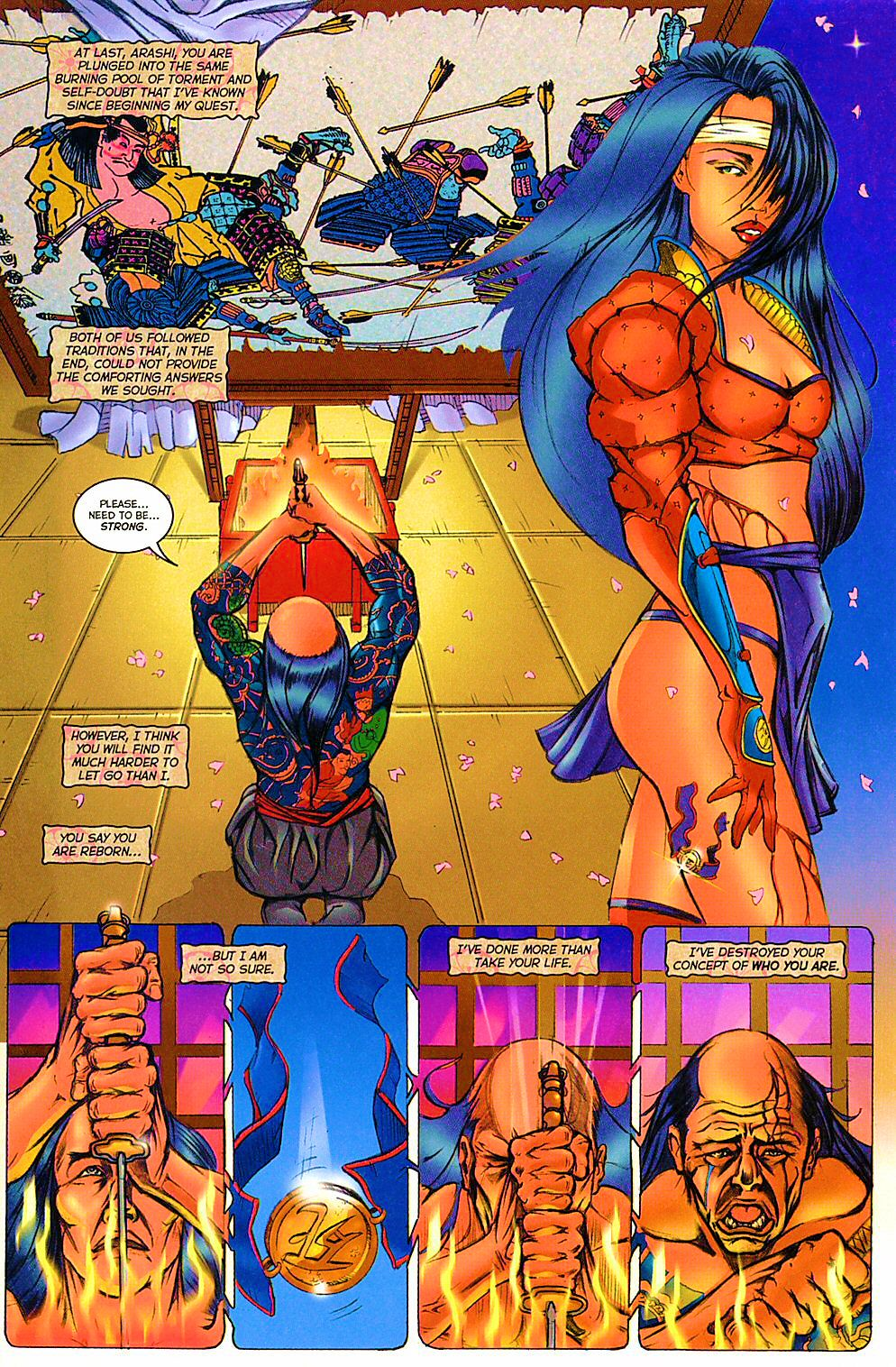 Read online Shi: The Way of the Warrior comic -  Issue #12 - 22