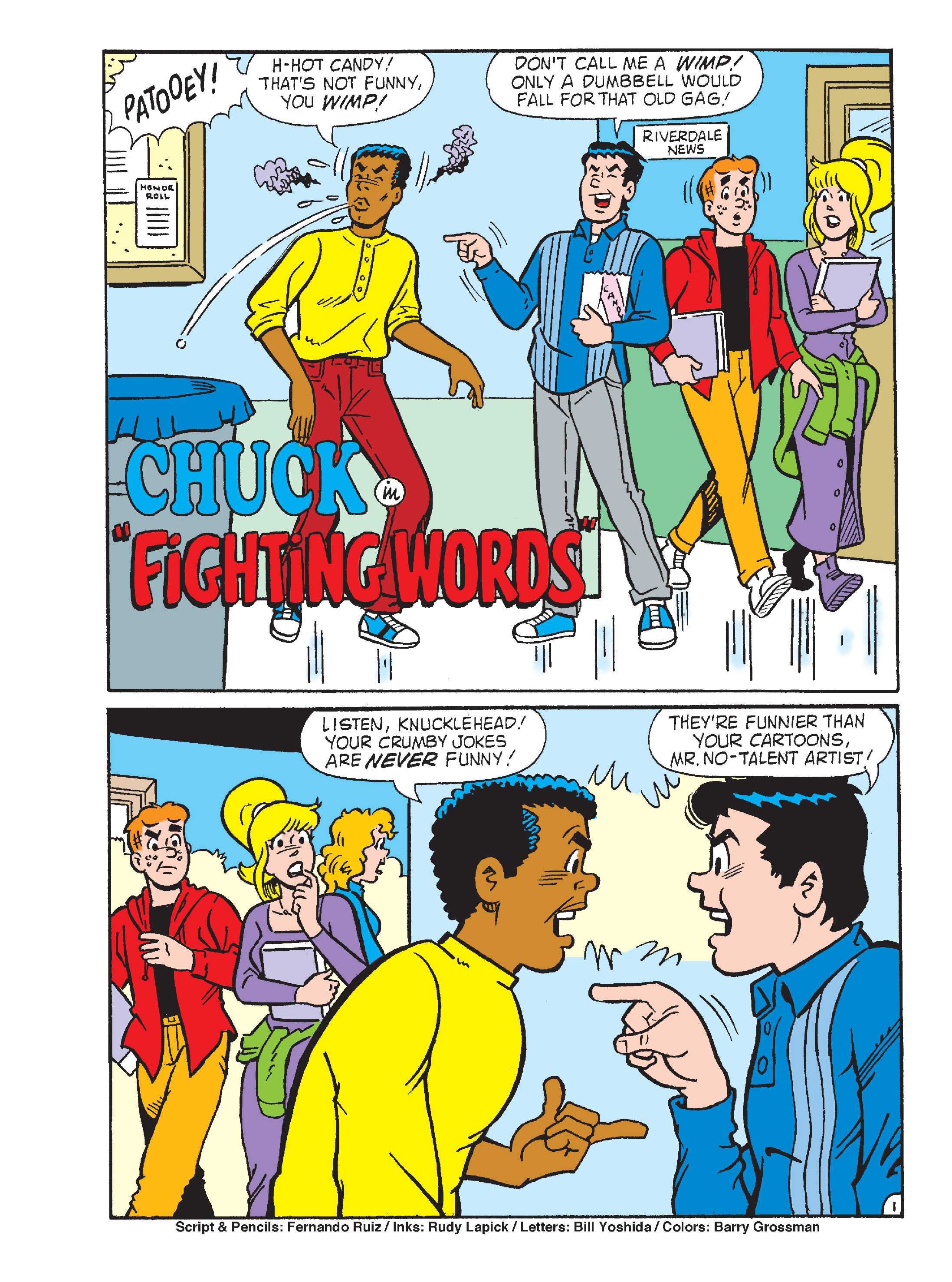 Read online Archie's Funhouse Double Digest comic -  Issue #15 - 154