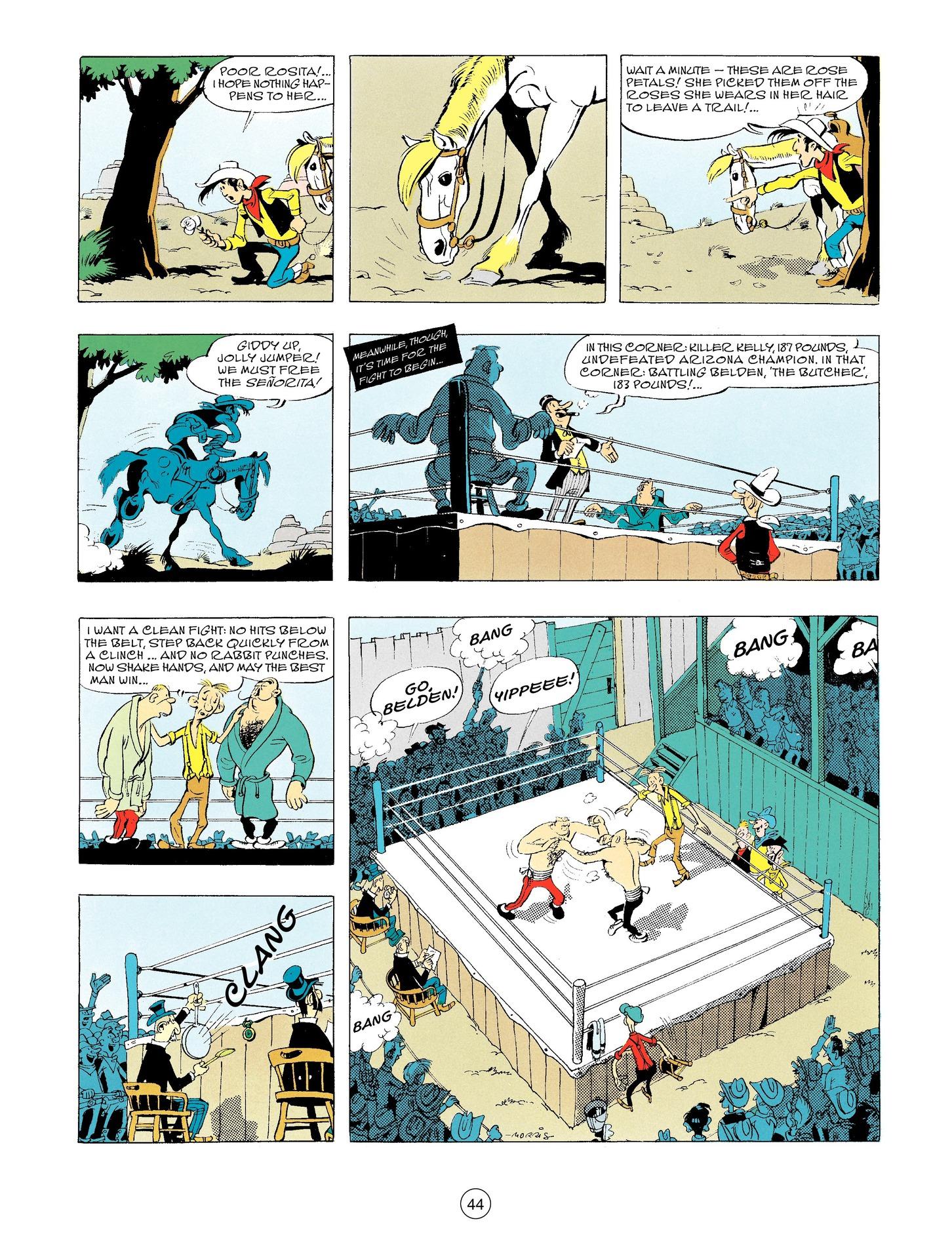 Read online A Lucky Luke Adventure comic -  Issue #56 - 44