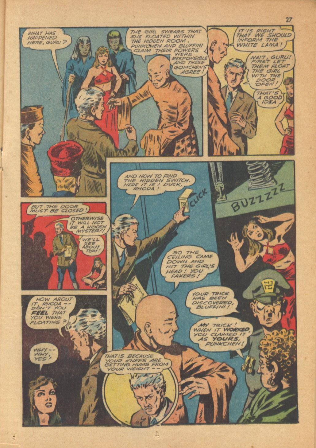 Read online Super-Magician Comics comic -  Issue #13 - 27