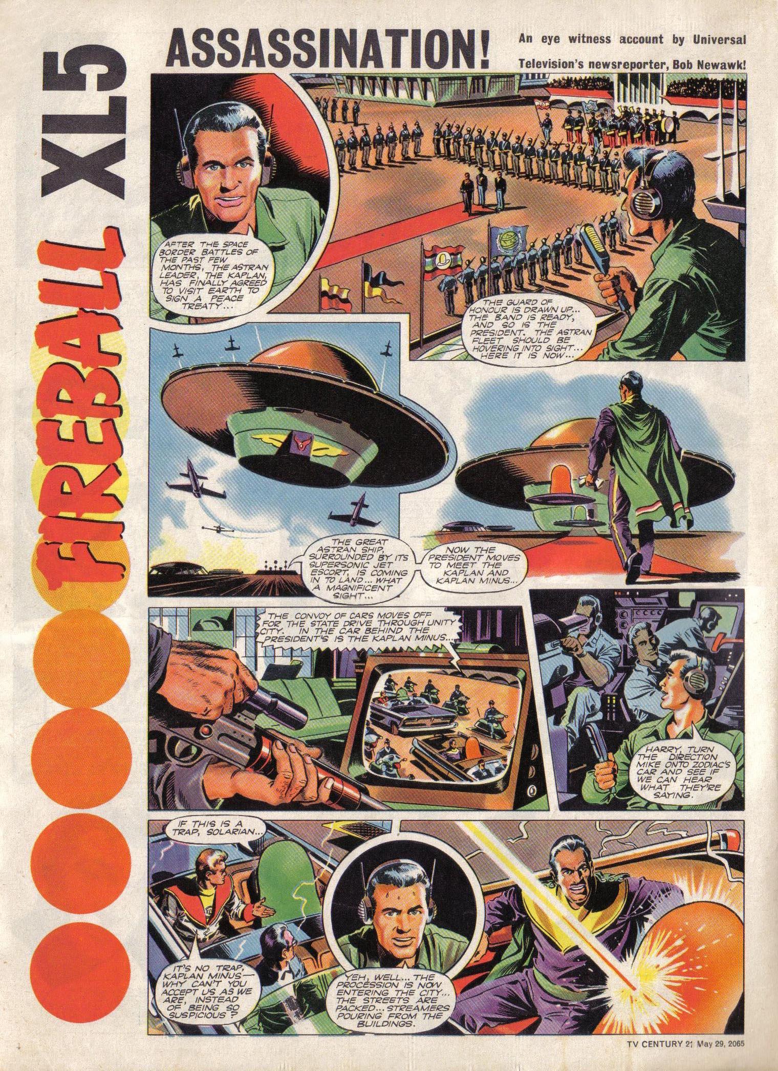 Read online TV Century 21 (TV 21) comic -  Issue #19 - 4