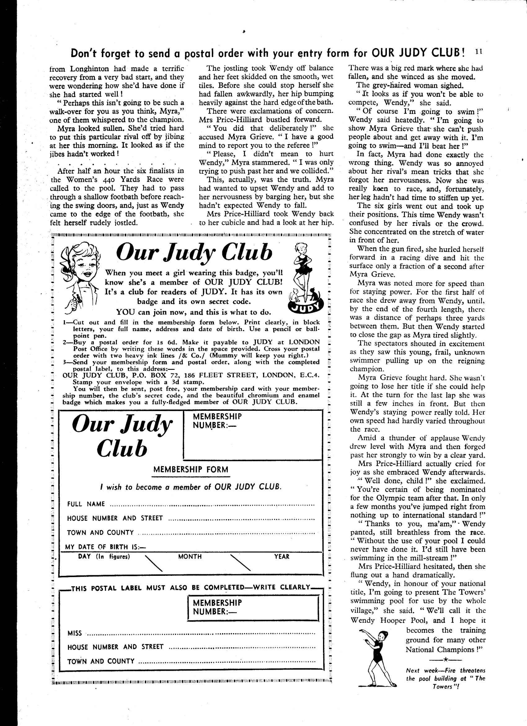 Read online Judy comic -  Issue #42 - 11