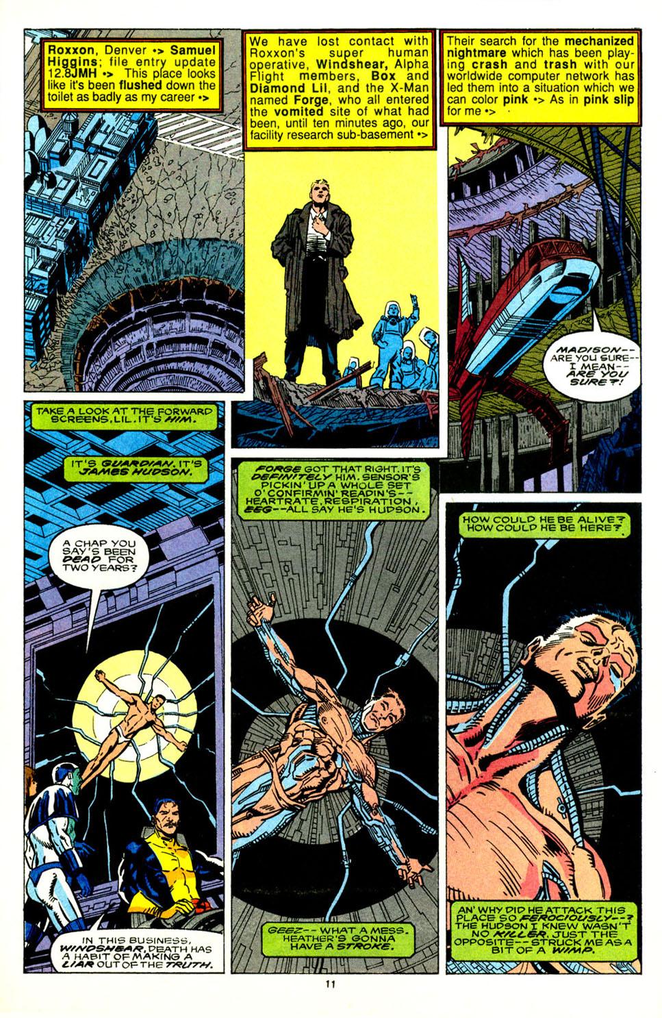Read online Alpha Flight (1983) comic -  Issue #89 - 10