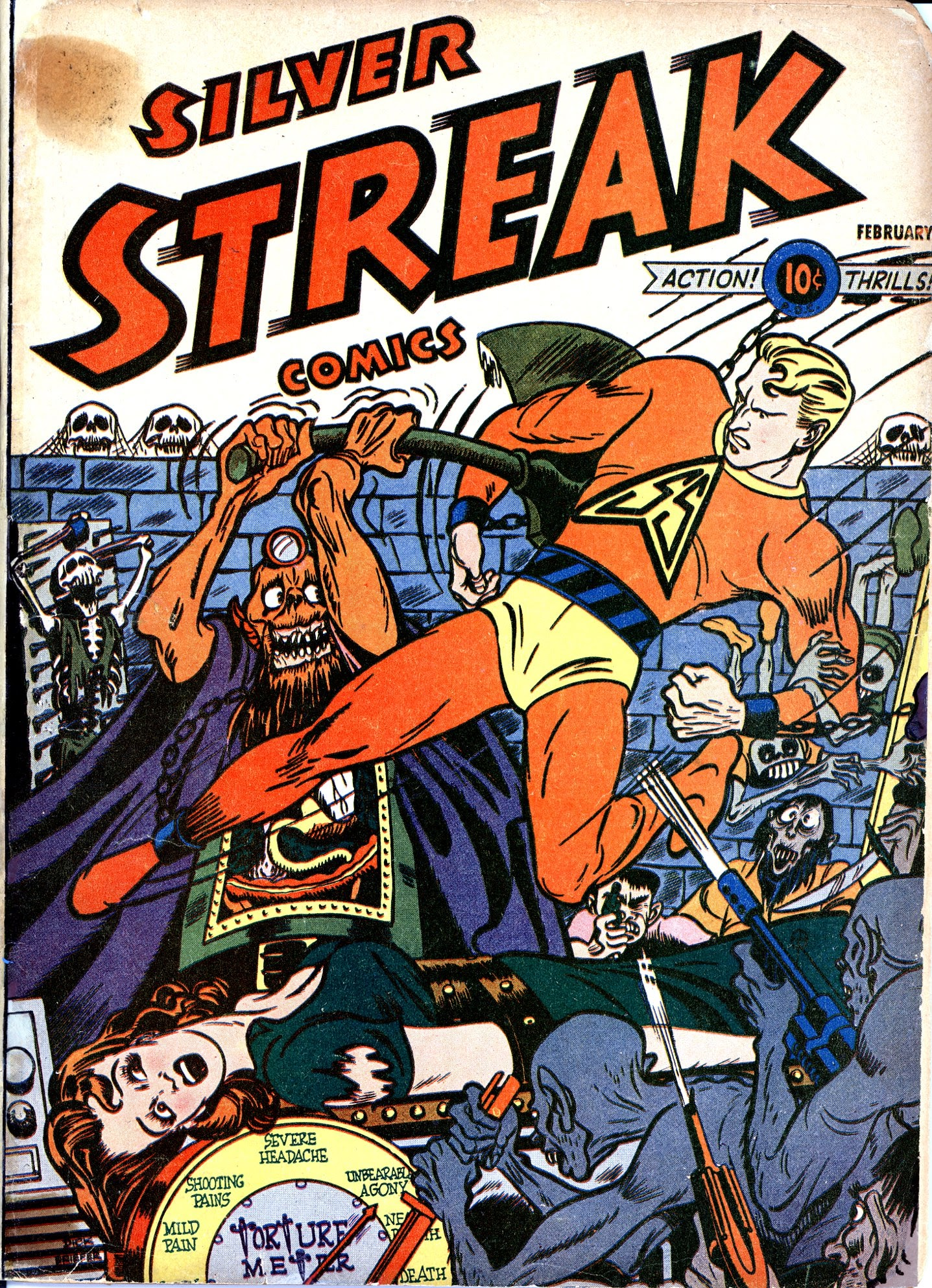 Silver Streak Comics 22 Page 1