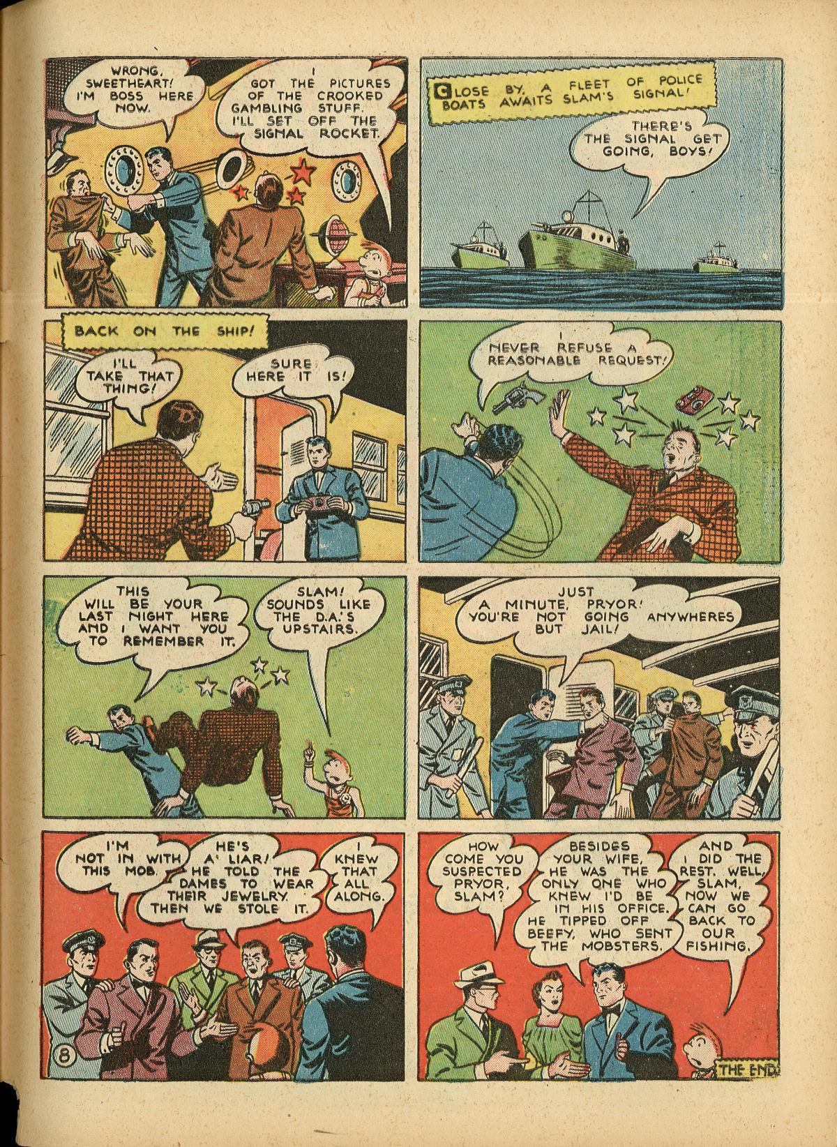 Read online Detective Comics (1937) comic -  Issue #55 - 65