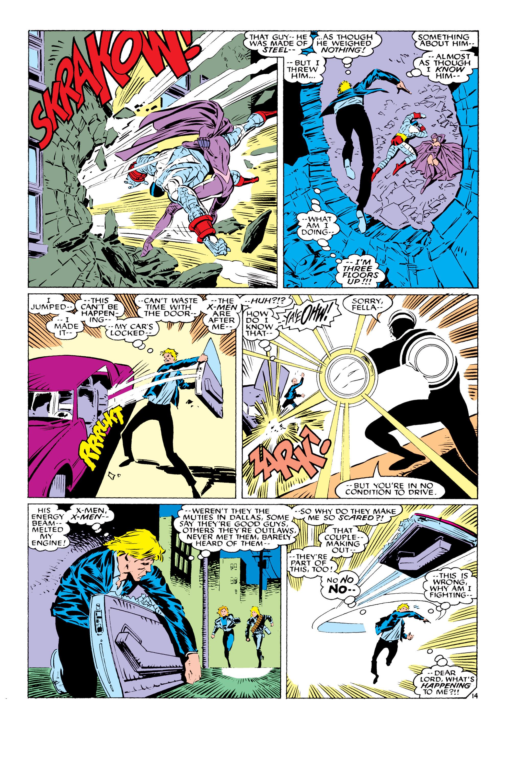 Read online Uncanny X-Men (1963) comic -  Issue #232 - 15