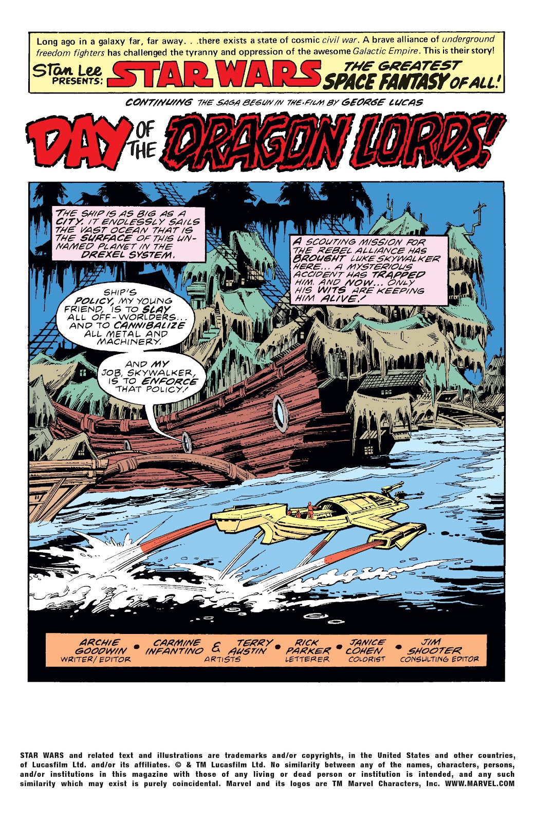 Read online Star Wars Legends: The Original Marvel Years - Epic Collection comic -  Issue # TPB 1 (Part 3) - 27