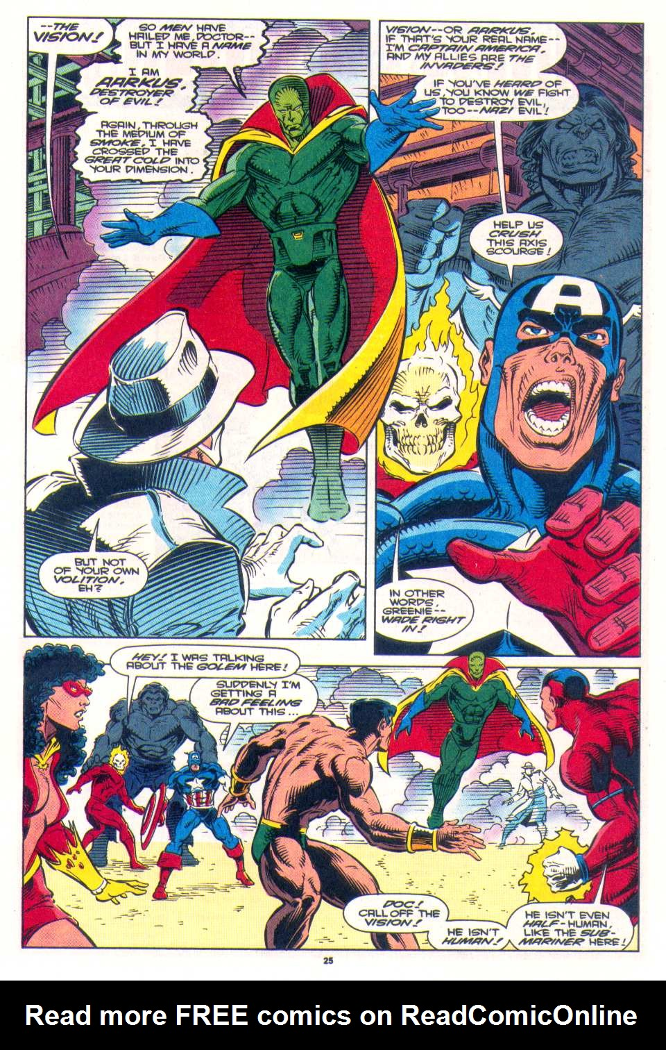 Read online The Invaders (1993) comic -  Issue #3 - 20