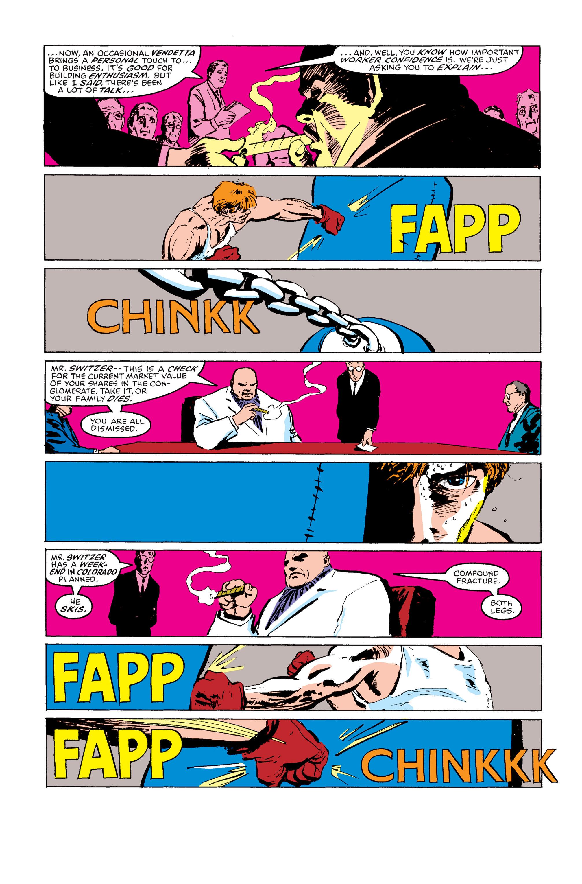 Read online Daredevil: Born Again comic -  Issue # Full - 124
