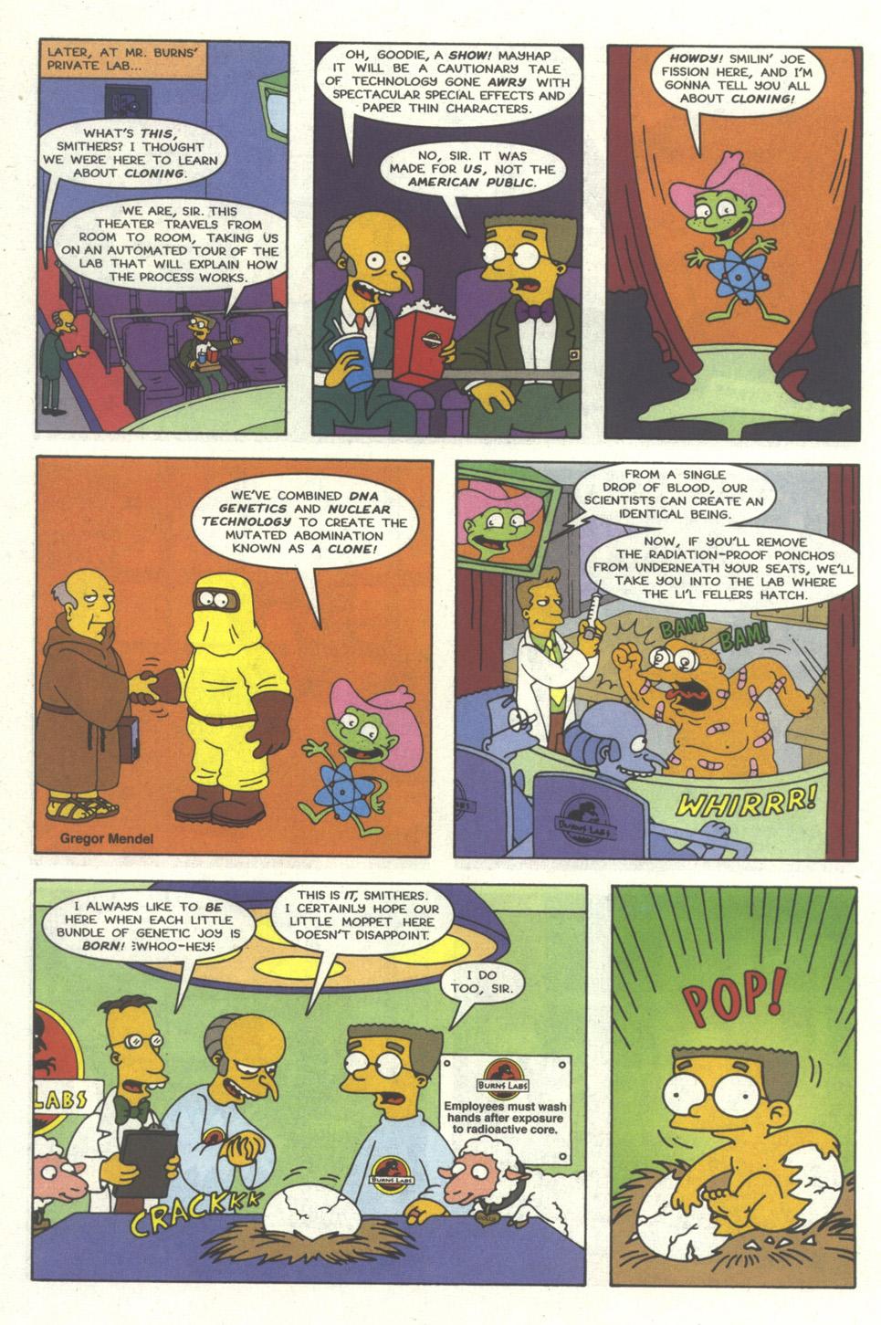 Read online Simpsons Comics comic -  Issue #30 - 5