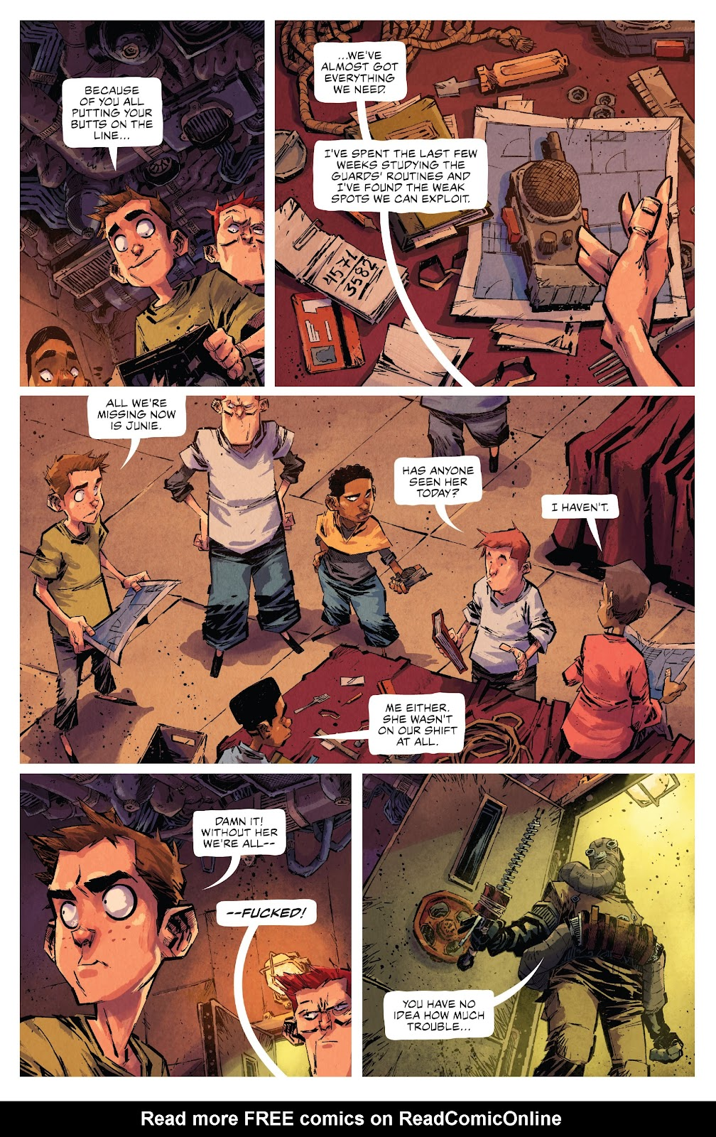 Read online Middlewest comic -  Issue #15 - 21