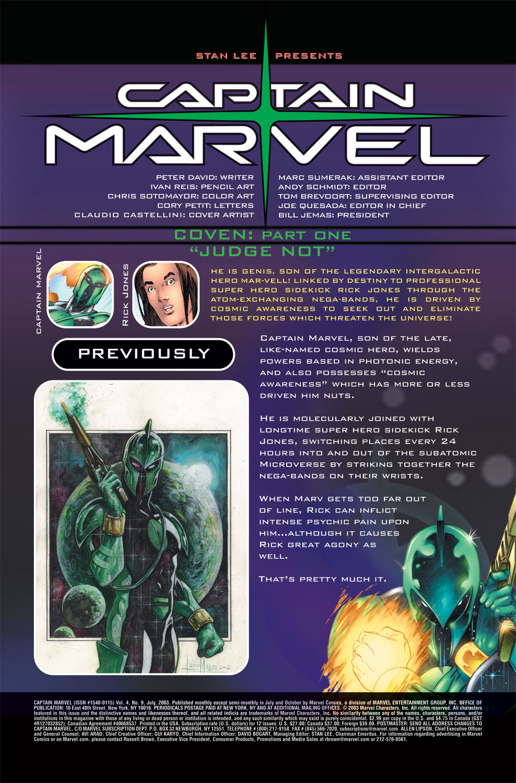 Captain Marvel (2002) Issue #9 #9 - English 2
