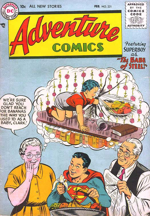 Read online Adventure Comics (1938) comic -  Issue #221 - 1