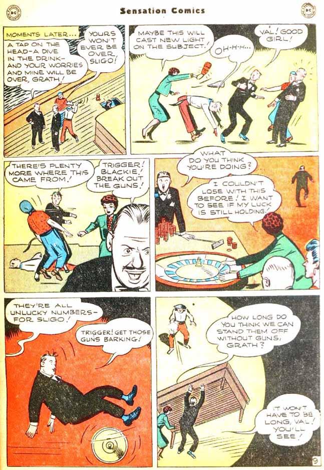 Read online Sensation (Mystery) Comics comic -  Issue #92 - 47