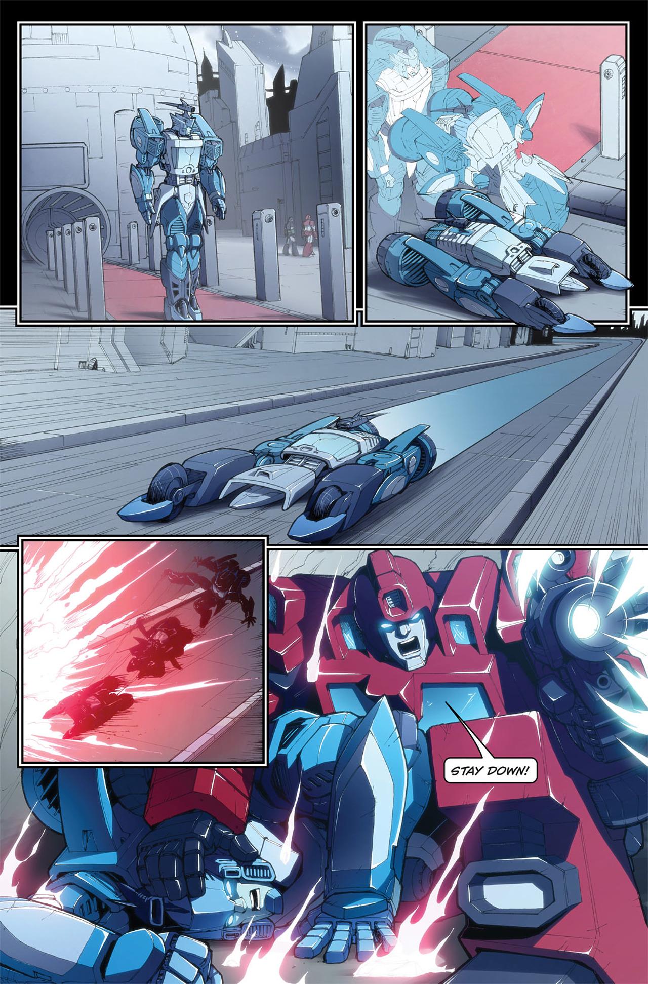 Read online Transformers Spotlight: Blurr comic -  Issue # Full - 18