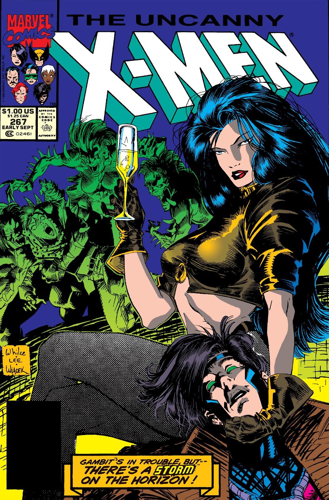 Uncanny X-Men (1963) issue 267 - Page 1