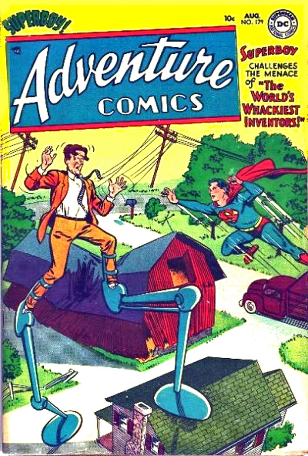 Read online Adventure Comics (1938) comic -  Issue #179 - 1