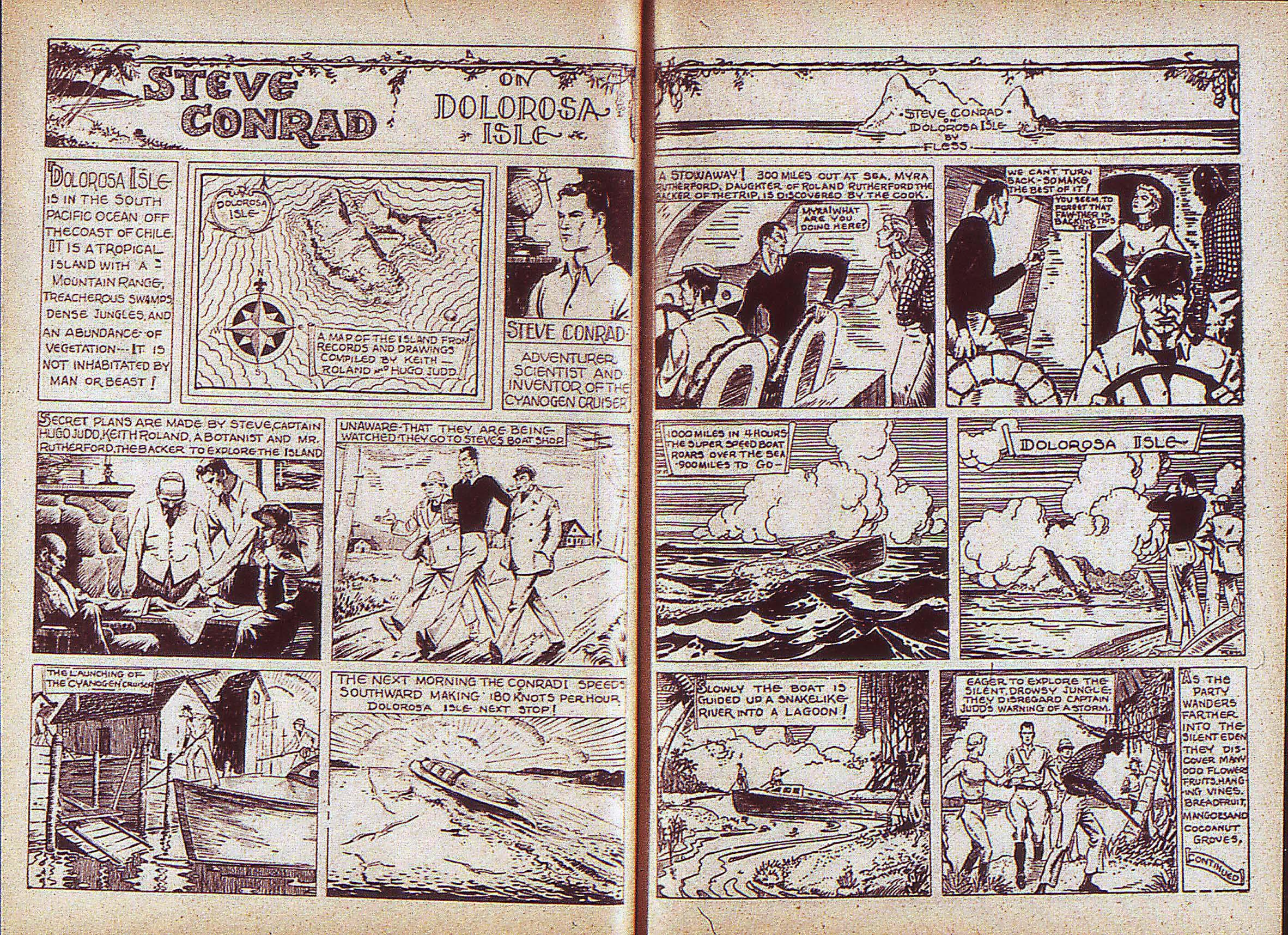 Read online Adventure Comics (1938) comic -  Issue #5 - 20