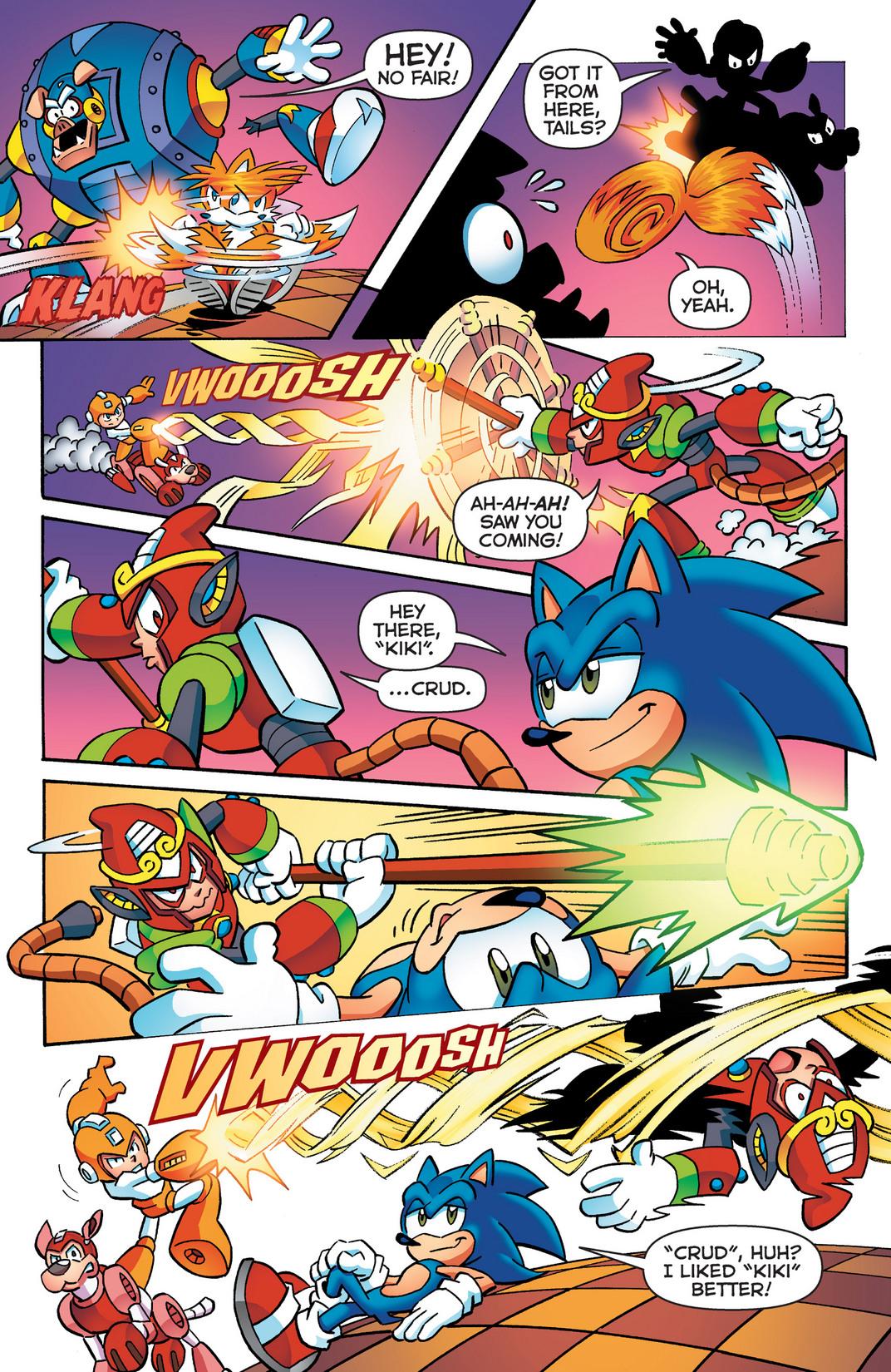 Read online Sonic Mega Man Worlds Collide comic -  Issue # Vol 2 - 23