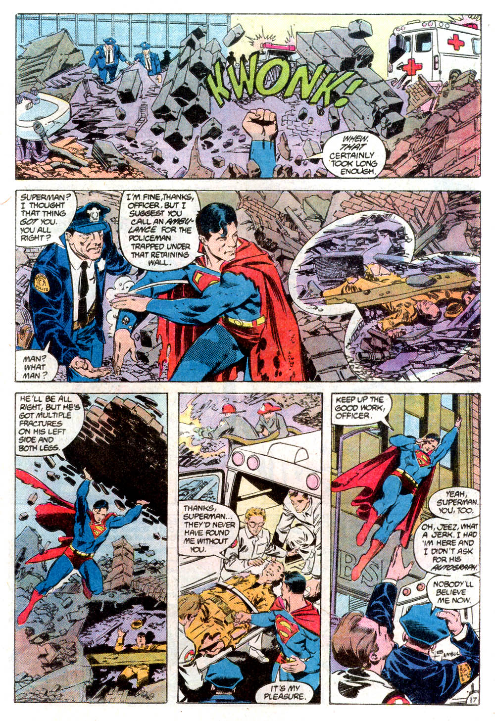 Read online Adventures of Superman (1987) comic -  Issue #424 - 18