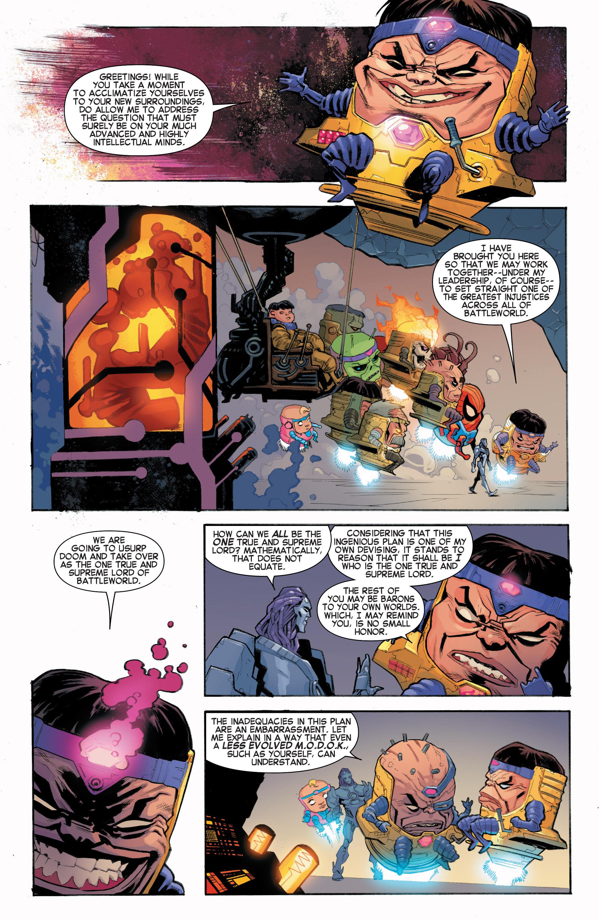 Read online Secret Wars Journal/Battleworld comic -  Issue # TPB - 133