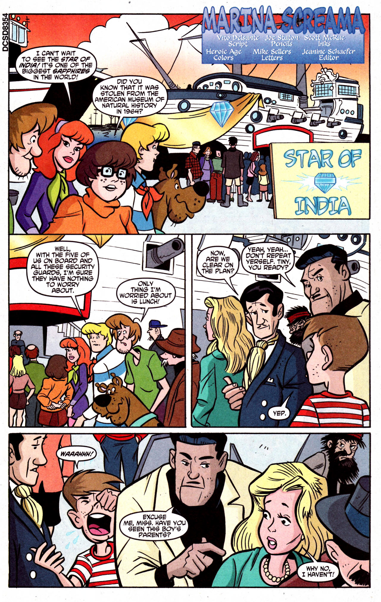 Read online Scooby-Doo (1997) comic -  Issue #126 - 14